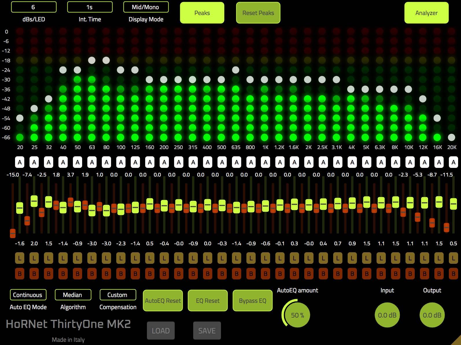 HoRNet ThirtyOne MK2 screenshot