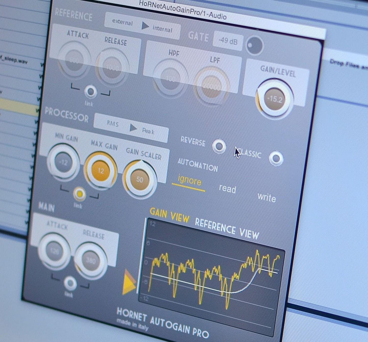 AutoGain Pro advanced volume automation