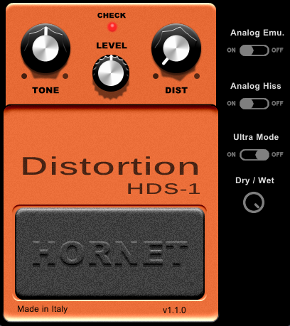 hds1 guitar distortion