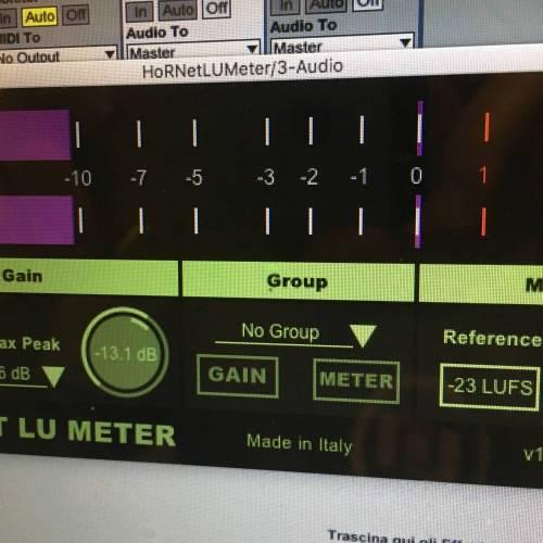 HoRNet LU Meter