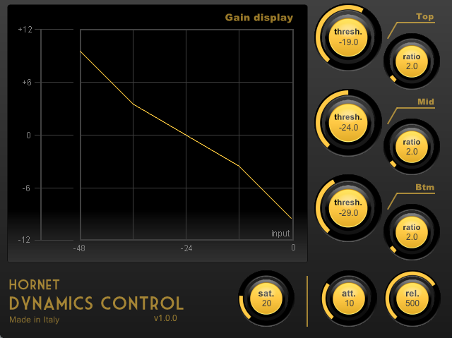 HoRNet Dynamics Control screenshot