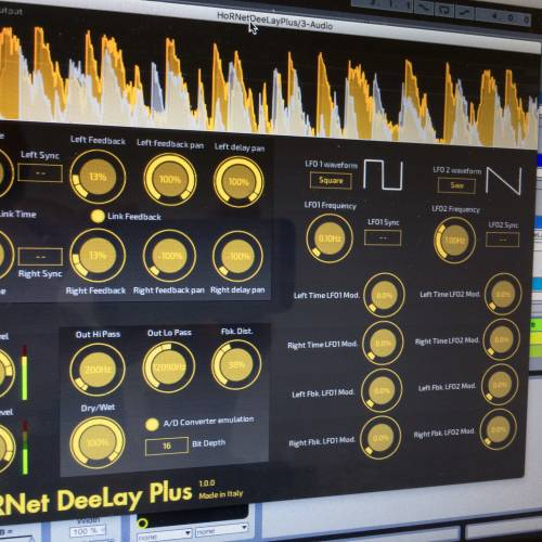 HoRNet DeeLay Plus creative digital delay plugin