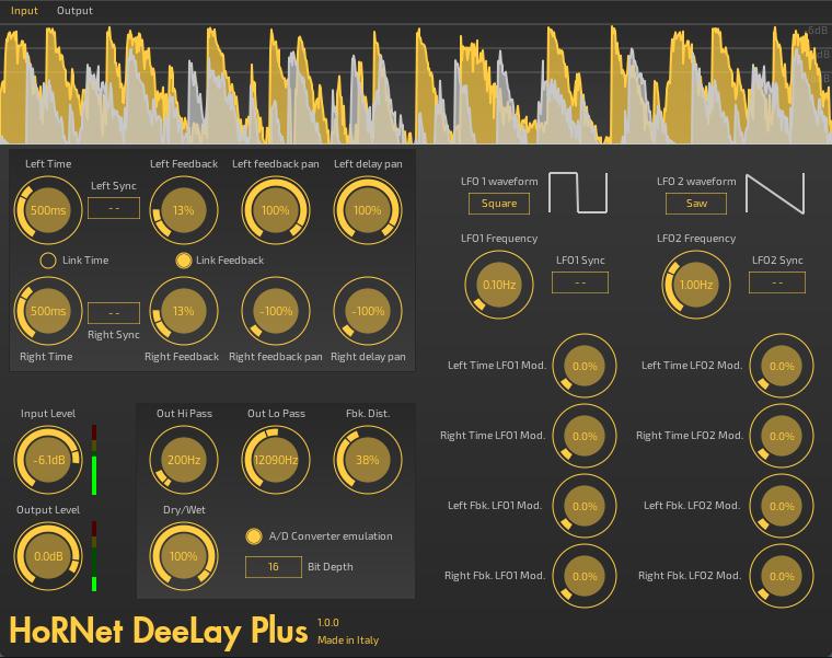 HoRNet DeeLay Plus digital delay