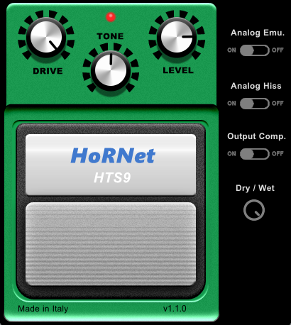 Hornet HTS9 overdrive plugin - KVR Audio