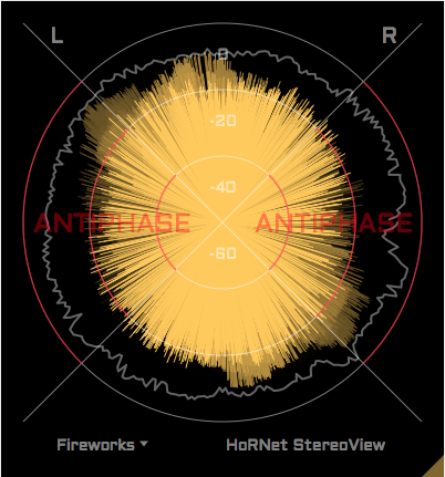 HoRNet StereoView, free stereo goniometer and correlation meter plugin
