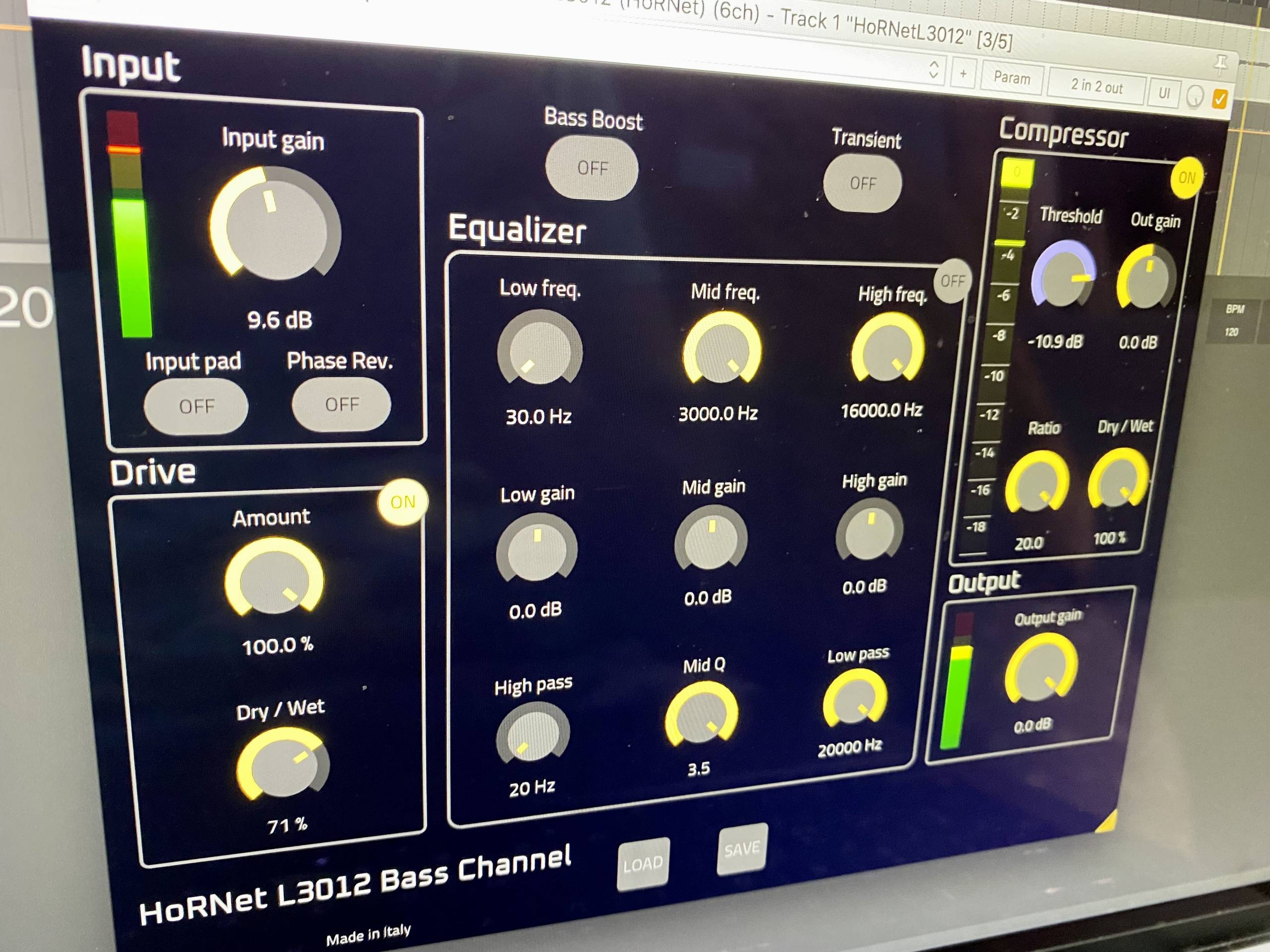 HoRNet L3012 Bass Channel